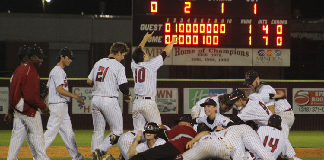 Minden Tide tops North DeSoto by using walk-off single, 2-1