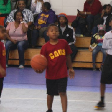 Little league basketball heats up at the Rec. Center